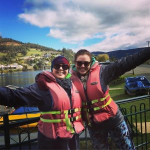@pearlansley Huon River Jet Boats