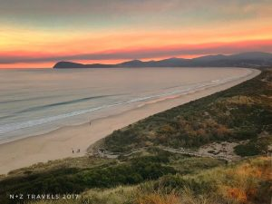@nz_odysseys Sunset at The Neck