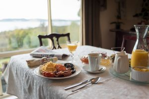 15 - Waterview Gardens B&B - breakfast