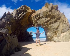 Archway at Mars Bluff