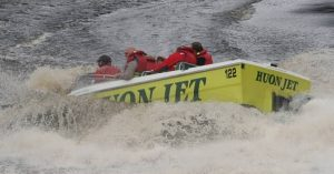 A ride with Huon Jet Boats will get your adrenaline pumping