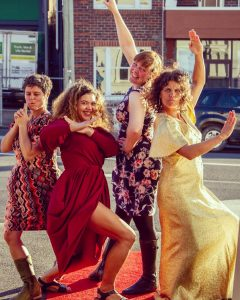 The Women of the Island filmmakers own the red carpet during Ten Days