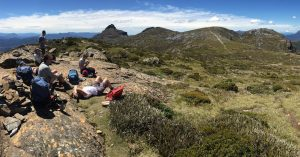 Hiking the peaks around Lake Pedder with Wild Pedder